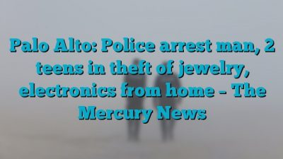 Palo Alto: Police arrest man, 2 teens in theft of jewelry, electronics from home – The Mercury News